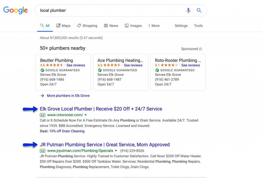 Paid Search Campaigns