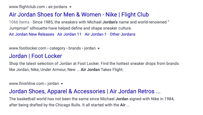 Google Testing Old Version of Results without Favicons