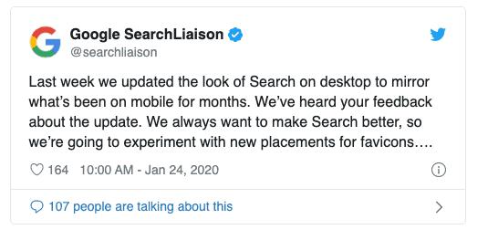 Google to Revert Latest Design